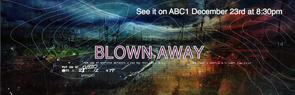 BLOWN AWAY BANNER